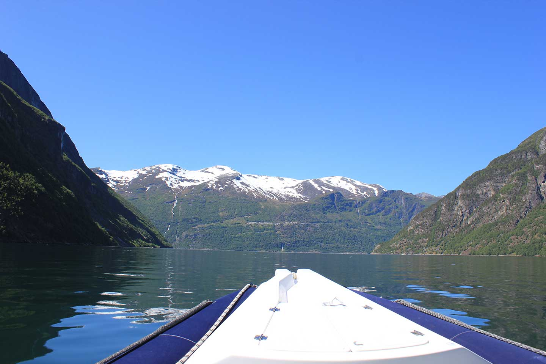 Båttur i Geiranger: Juvelen blant de vakre fjorder